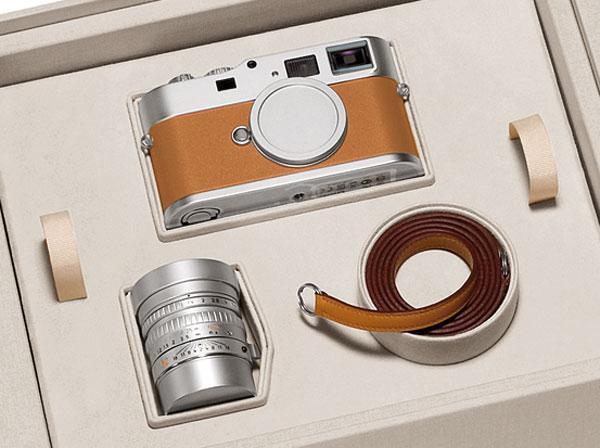 Foto der Leica M9-P »Edition Hermès«