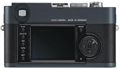 Foto der Rückseite der Leica M-E