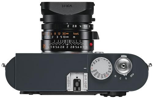 Foto der Oberseite der Leica M-E