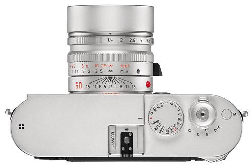 Foto der Oberseite der Leica M