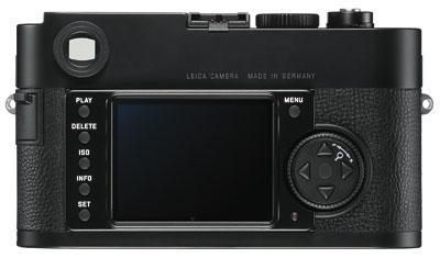 Foto der Rückseite der Leica M Monochrom