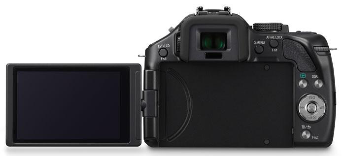 Foto der Rückseite der Lumix G5