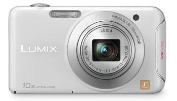 Foto der Lumix SZ5 in weiß