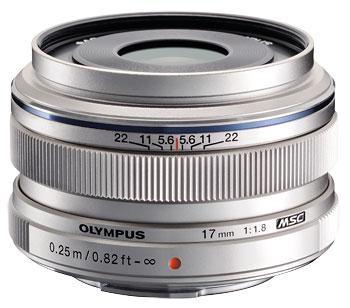 Foto M.Zuiko Digital 1,8/17 mm von Olympus