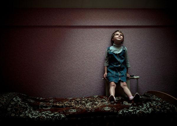 Foto Svetlana Mychkine, aus der Serie zuckerblau