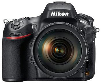 Foto der D800E von Nikon