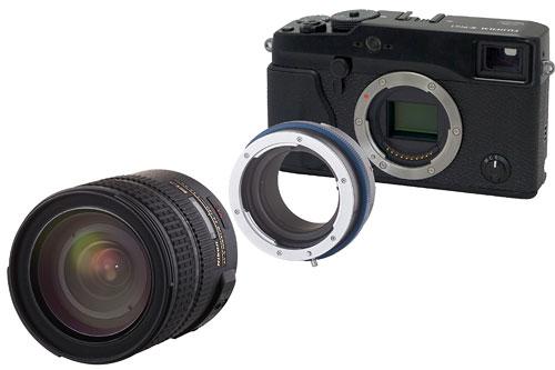 Novoflex-Objektivadapter für die Fujifilm X-Pro 1