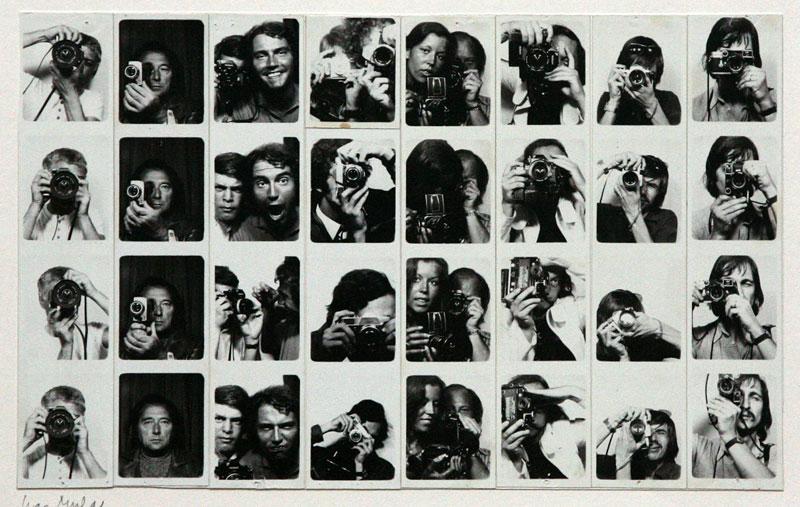 Foto Franco Vaccari, Esposizione in tempo reale num. 4, Modena 1972