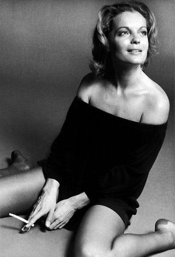 Foto Eva Sereny, Romy Schneider, 1972