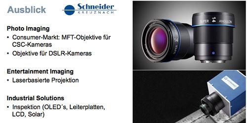 Grafik: Schneider-Kreuznach