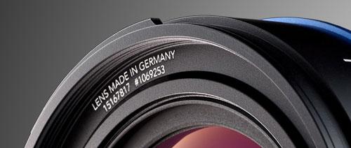 Detailfoto vom Super-Angulon 2,0/14mm von Schneider-Kreuznach