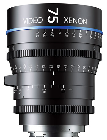 Foto Video Xenon T2.1/75 mm