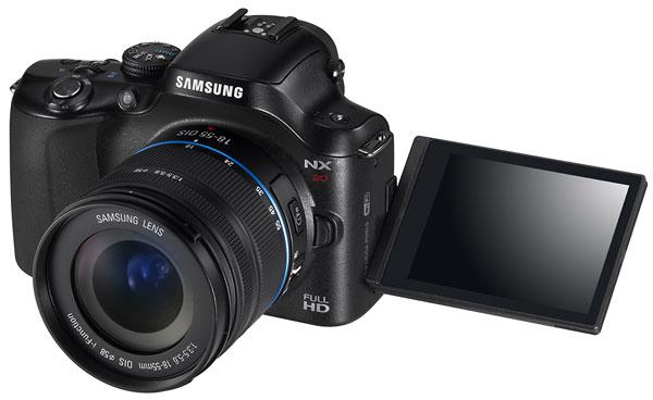 Foto der NX20 von Samsung