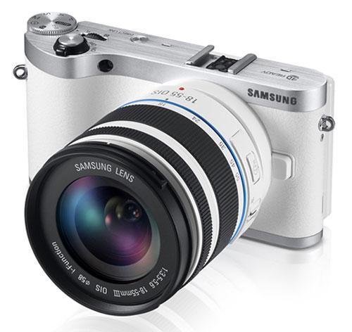 Foto der Samsung NX300