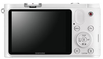 Foto der Rückseite der NX1000 von Samsung