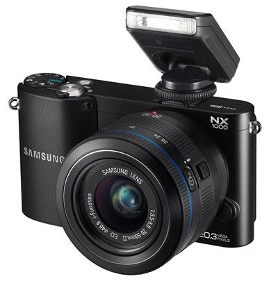 Foto der NX1000 von Samsung