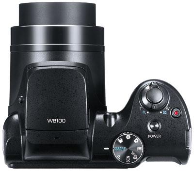 Foto der Oberseite der WB100 von Samsung