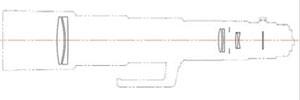 Schnitt Pentax HD DA 5,6/560 mm ED AW
