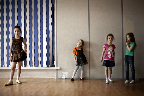 "Foto Anastasia Taylor-Lind, aus der Serie ""Siberian Supermodels"""