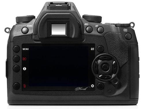 Foto der Rückseite der Sigma SD1 Merrill
