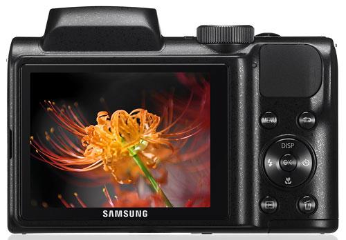 Foto der Rückseite der WB100 von Samsung