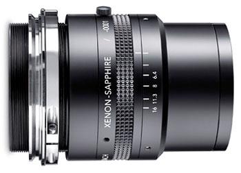 Foto eines Xenon-Sapphire-Objektivs