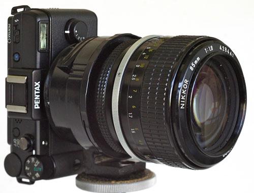 Foto Pentax-Q-Adapter