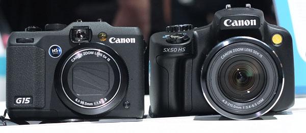 Lichtstark Oder Starkes Tele Powershot G15 Und Sx50 Hs Photoscala