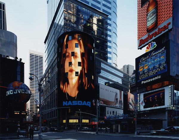 Foto Thomas Struth (*1954), Times Square, New York, 2000