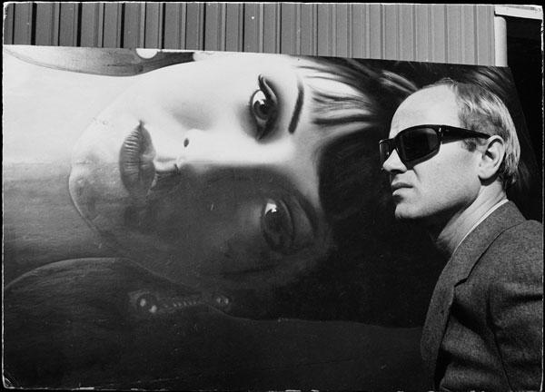 Foto Dennis Hopper, James Rosenquist, 1964