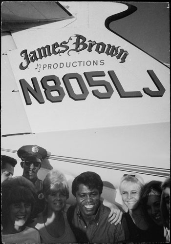 Foto Dennis Hopper, James Brown, 1966