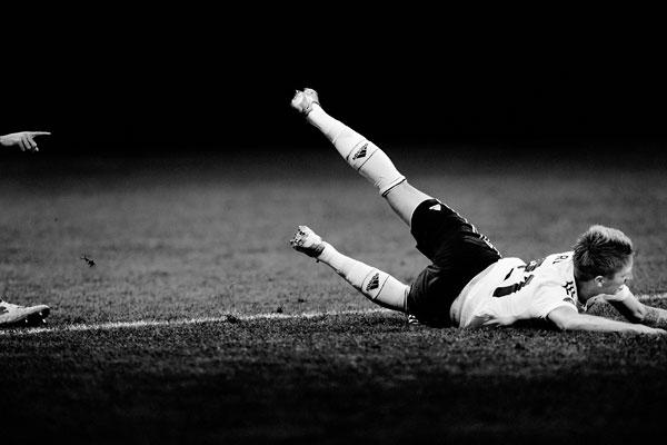 Foto Regina Schmeken, Deutschland-Italien (Europameisterschaft), 1:2, Warschau, 28.6.2012, Marco Reus