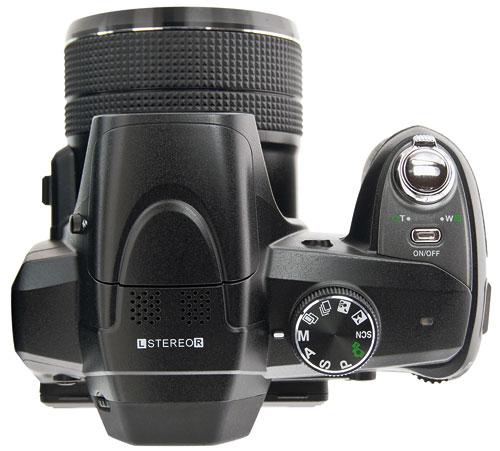 Foto der Oberseite der luxmedia 18-Z36C