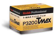 Packungsfoto T-Max P3200 von Kodak