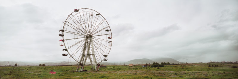 Foto Wim Wenders: Ferris Wheel, Armenia, 2008