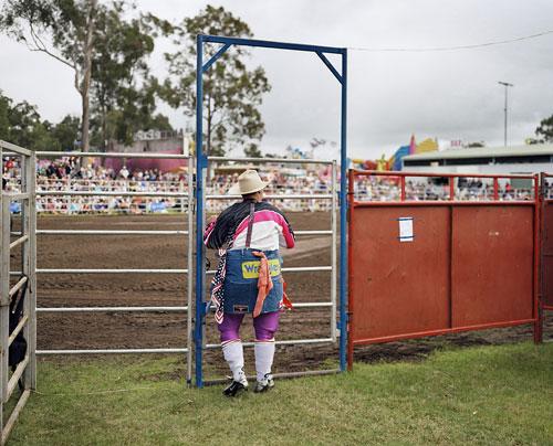 Foto Wim Wenders: Cowboy Clown, Brisbaine, 2006