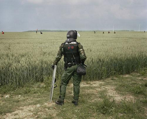 Foto Wim Wenders: Policeman, Heiligendamm, 2007