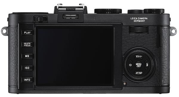 Foto der Rückseite der Leica X2
