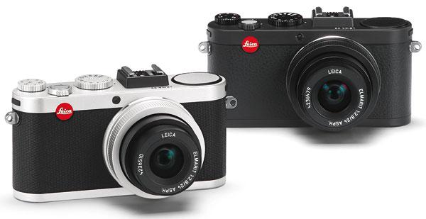 Foto der Leica X2 in schwarz und silberfarben