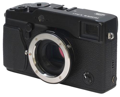 Foto vom M-Objektivadapter an X-Pro1 von Fujifilm