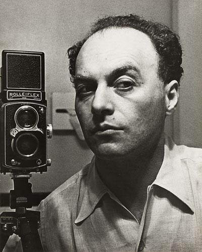Selbstporträt Hermann Landshoff, New York um 1942
