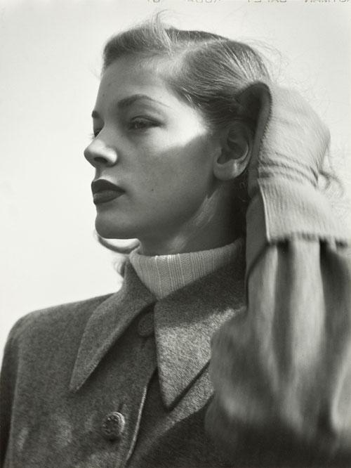 Die Schauspielerin Lauren Bacall, New York 1945