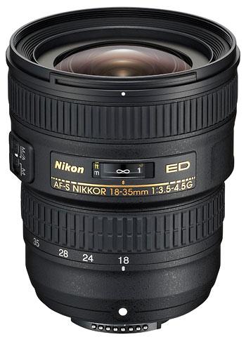 Foto AF-S Nikkor 3,5-4,5/18–35 mm G ED