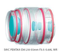 Foto smc Pentax-DA L 3,5-5,5/18-55 mm AL WR