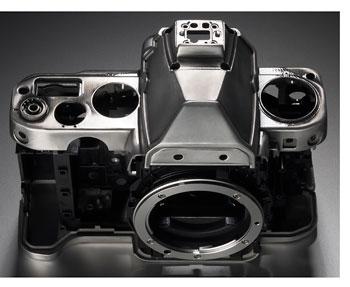 Foto Nikon Df - Gehäuseelemente aus Magnesiumlegierung