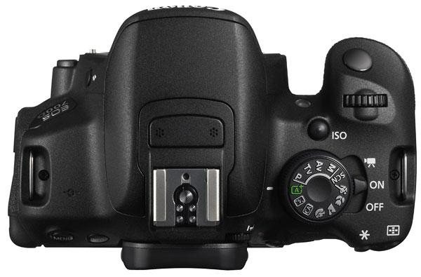 Foto der Oberseite der EOS 700D