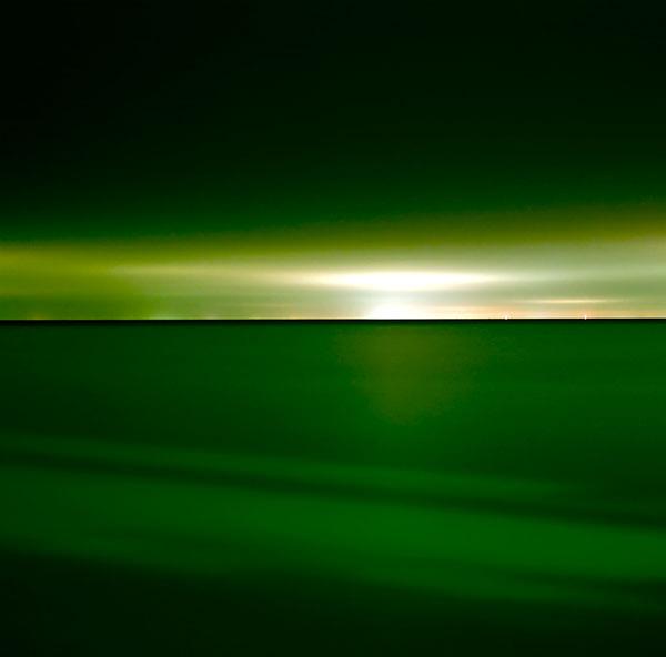 Lucinda Devlin, Lake Huron, 10-18-11, 10-45 pm, 2011