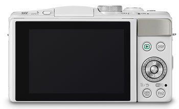 Foto der Rückseite der Lumix GF6