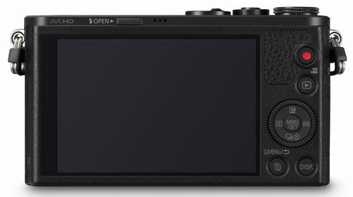 Foto der Rückseite der Lumix GM1