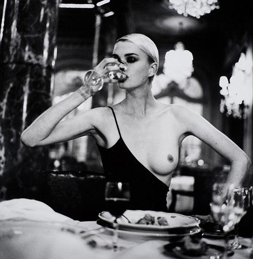Foto Helmut Newton, American Vogue, Monaco, 1996